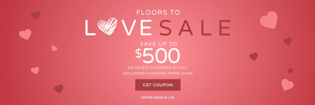 Floors to Love Sale | Gregory's Paint and Flooring