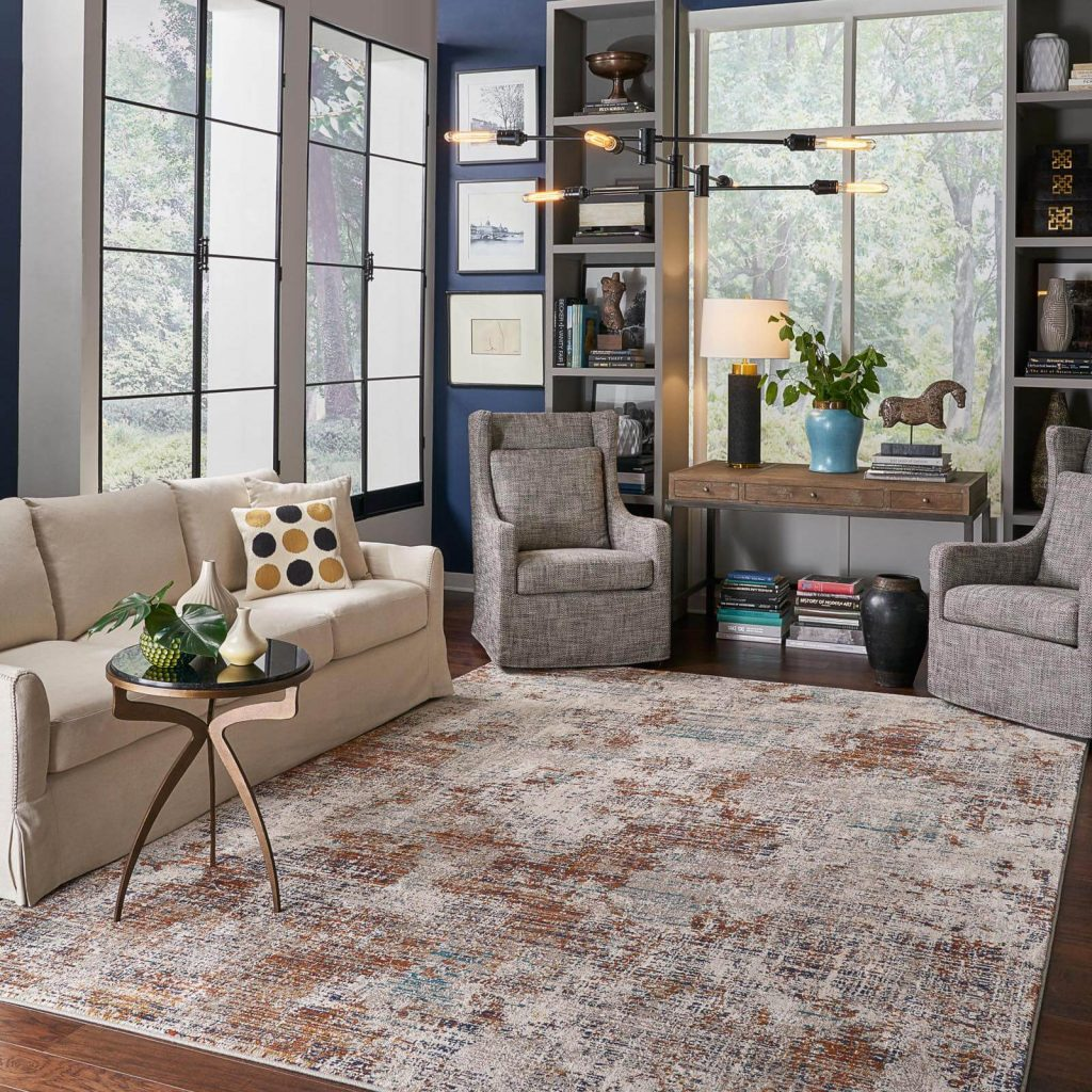 Choosing the Right Size Area Rug | Gregory's Paint and Flooring