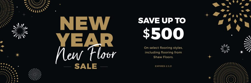 New Year, New Floor Sale | Gregory's Paint and Flooring